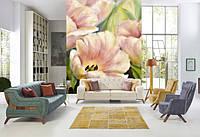 Фотообои рисунок с цветами