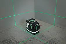 Лазерный нивелир 3D зеленый 883G KAPRO, фото 2