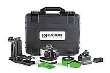 Лазерный нивелир 3D зеленый 883G KAPRO, фото 3