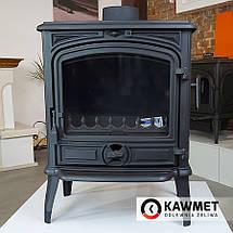 Печь камин чугунная KAWMET Premium S14 (6,5 kW), фото 3