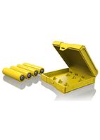 Чехол Chubby Gorilla Battery Case 18650 x 4 Yellow