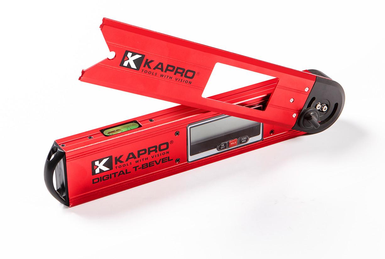 Уровень цифровой Kapro Digital T-Bevel с угломером (992kr)