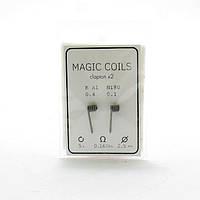 Комплект спіралей Magic Coils Fused Clapton №14 2 шт 0.16 Ом
