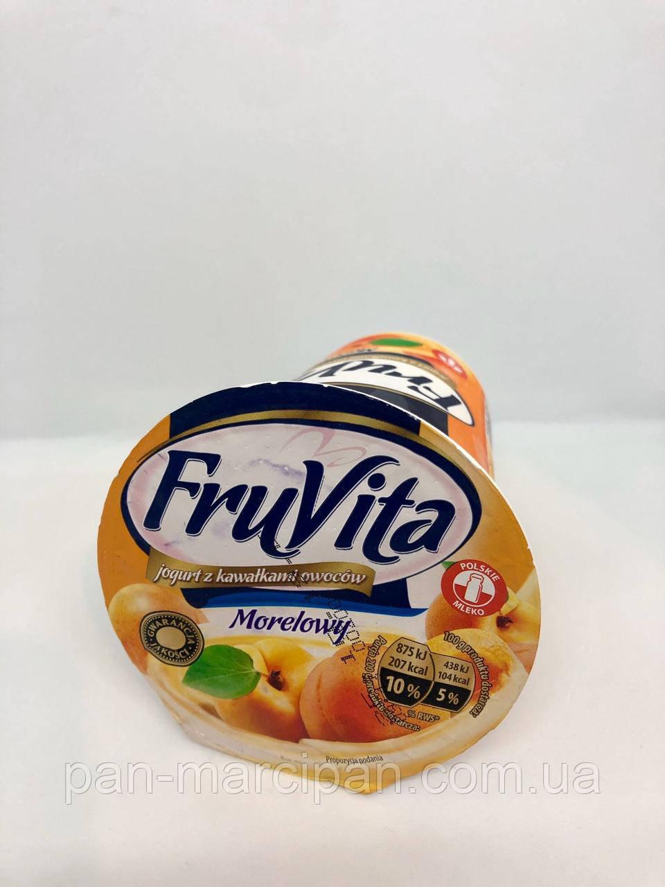 Йогурт Fruvita 400г персик