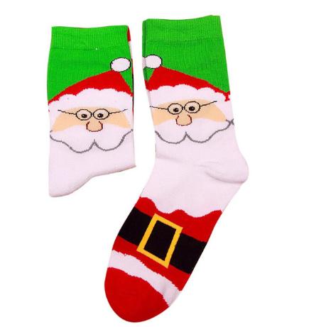 Новогодние мужские носки Санта