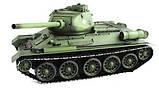 Танк на радиоуправлении 1:16 Heng Long T-34 с пневмопушкой и и/к боем (Upgrade), фото 3