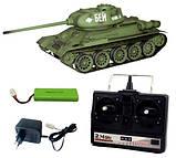 Танк на радиоуправлении 1:16 Heng Long T-34 с пневмопушкой и и/к боем (Upgrade), фото 6