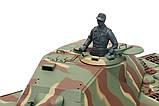 Танк на радіокеруванні 1:16 Heng Long King Tiger Porsche з пневмопушкой та/до боєм, фото 4