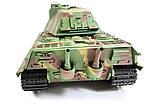 Танк на радіокеруванні 1:16 Heng Long King Tiger Porsche з пневмопушкой та/до боєм, фото 9