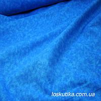 53004 Лазурный голубой фон. Фоновые ткани для хобби. Американский хлопок.