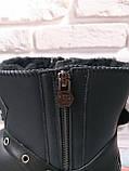 Кожаные натуральные женские угги в стиле Philipp Plein, фото 6