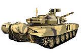 Танк р/у 1:16 Heng Long Т-90 с пневмопушкой и дымом (HL3938-1), фото 2