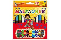 Фломастеры меняющие цвет волшебные безопасные нетоксичные MALINOS Malzauber 12 (10+2) шт
