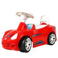 """Машинка-каталка """"Спорткар"""" красный, толокар для детей, возраст от ,3 лет (160К)"""