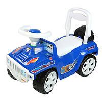 "Машинка-каталка ""Ориончик"" синяя, толокар для детей,  возраст от 3 лет (419 С)"