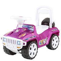 """Машинка-каталка """"Ориончик"""" розовая, толокар для детей,  возраст от 3 лет (419 Р)"""