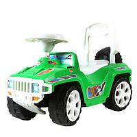 """Машинка-каталка """"Ориончик"""" зеленая, толокар для детей, возраст от 3 лет (419З)"""