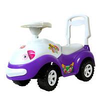 """Машинка-каталка """"Луноходик"""" фиолетовый, толокар для детей, возраст от 3 лет (174Ф)"""