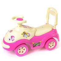 """Машинка-каталка """"Луноходик"""" розовая, толокар для детей, возраст от 3 лет (174Р)"""