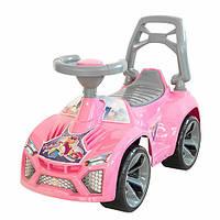 """Каталка """"Ламбо"""" розовая, толокар для детей, возраст от 3 лет (021)"""