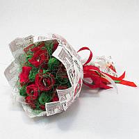 Букет из конфет Розы 17 Крафт 4123IT