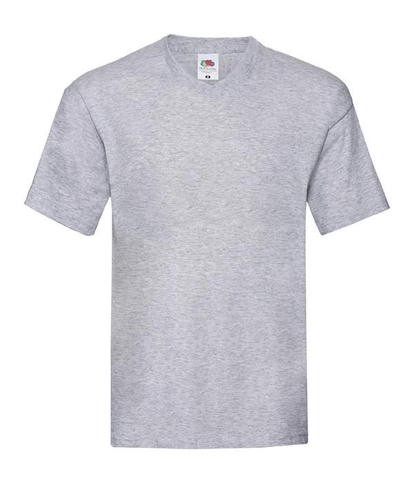 Мужская тонкая футболка с v образным вырезом 3XL, 94 Серо-Лиловый