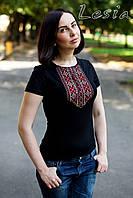 Жіноча футболка Мережка червона
