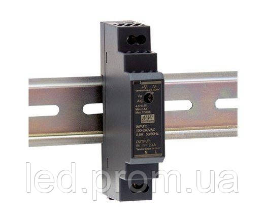 Блок питания Mean Well на DIN-рейку 15Вт 12В IP20 (HDR-15-12)