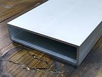Алюминиевая труба квадратная 80х20х2 / AS, фото 1