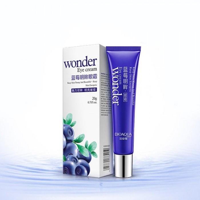 Крем для кожи вокруг глаз BIOAQUA Wonder Eye Cream с экстрактом черники и коэнзимом Q10, 20 мл