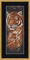 """Набор для вышивания крестом """"Тигрица"""""""