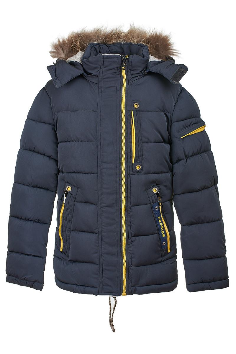 Зимняя куртка на мальчика 8-12 лет. Размеры 128-152, есть замеры, 66061