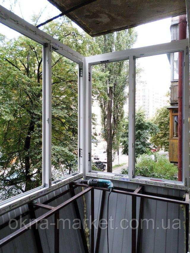Балкон Хрущевка с выносом Киев