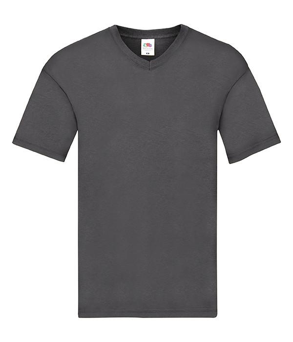 Чоловіча тонка футболка з v-подібним вирізом XL, GL Світлий Графіт