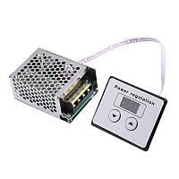 Диммер з дисплеєм, Регулятор напруги AC 4000Вт, 220В