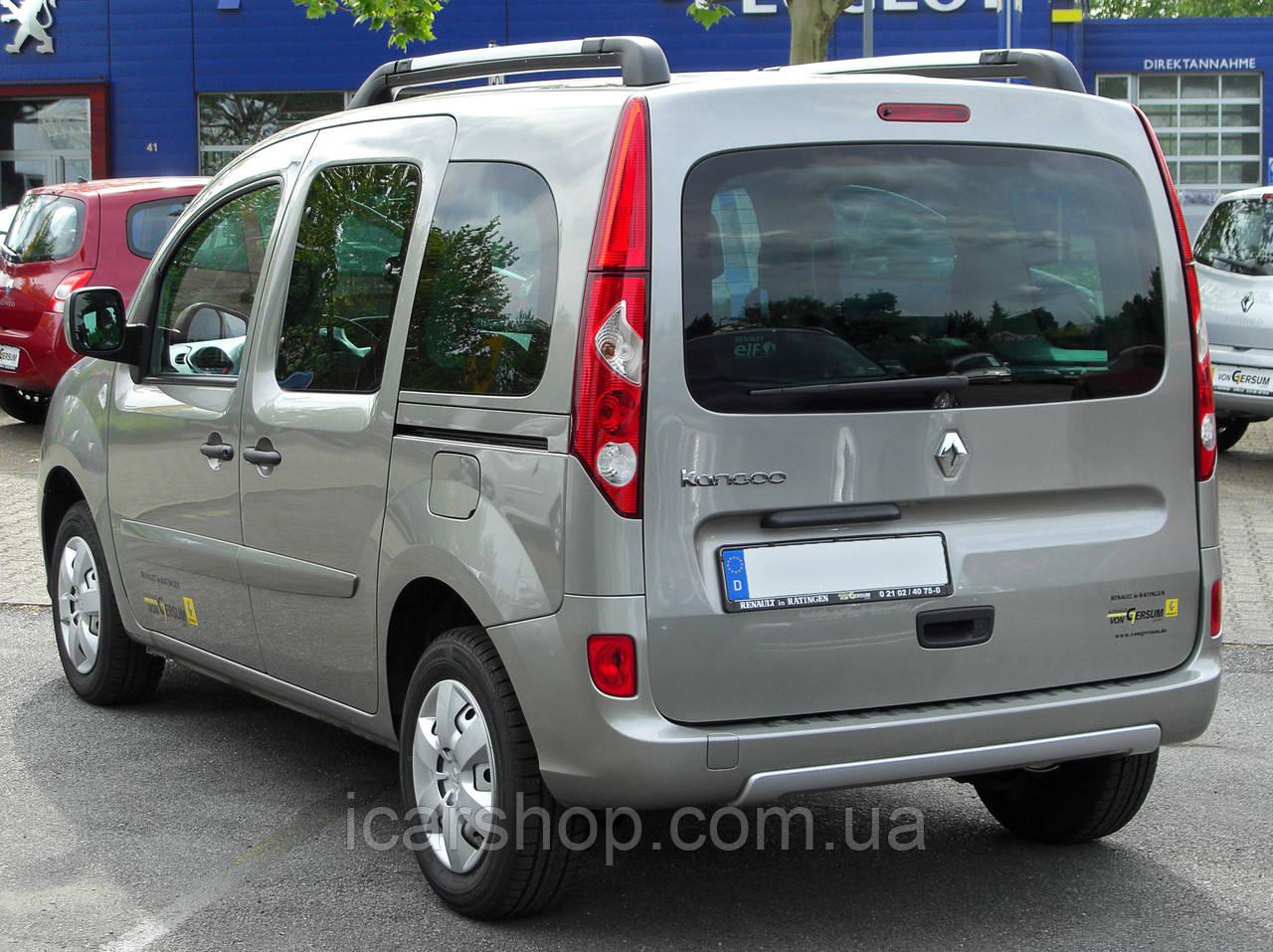 Стекло Renault Kangoo II 08- тыл правый без электро обогревателю Benson