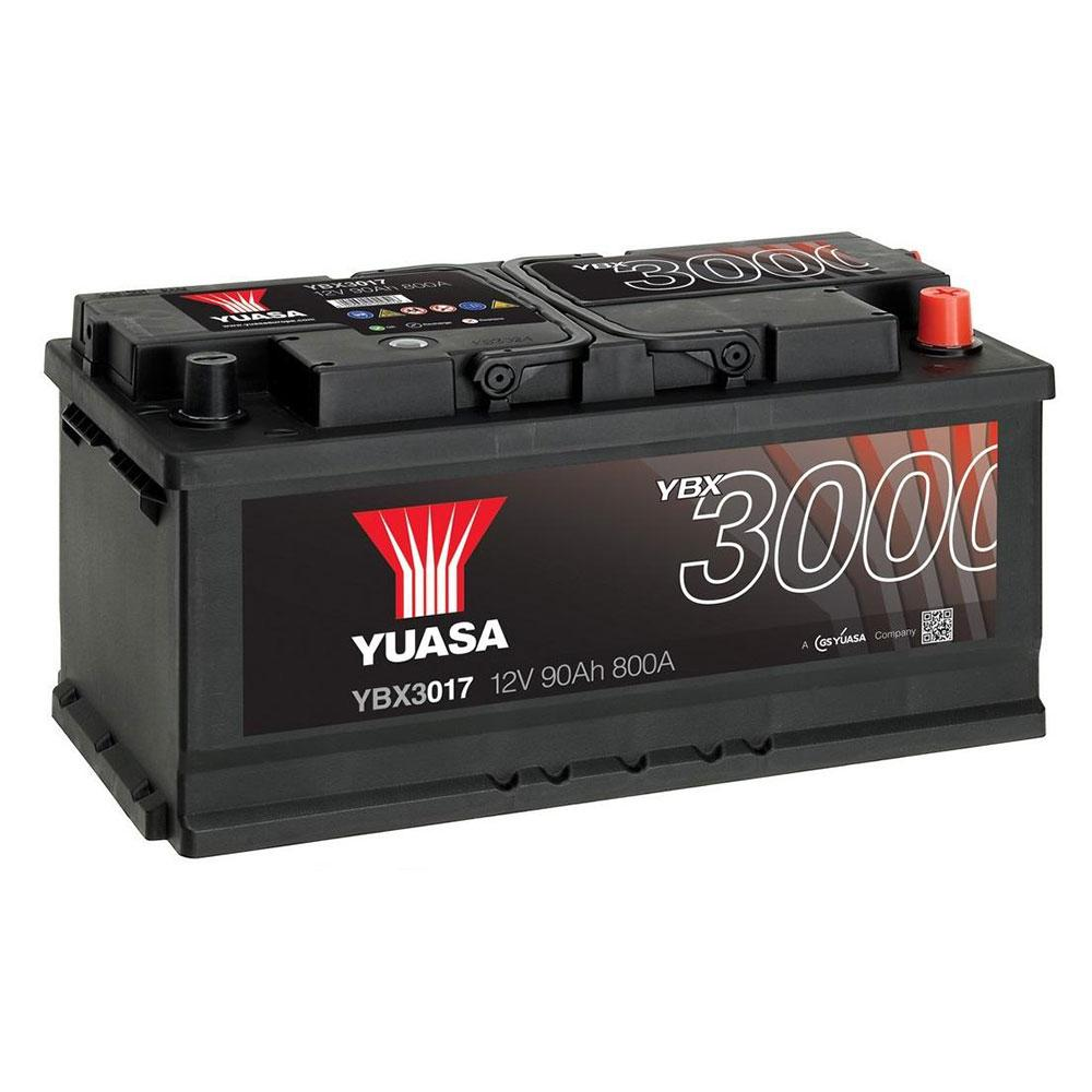 Yuasa 6СТ-90 АзЕ YBX3017 Автомобильный аккумулятор