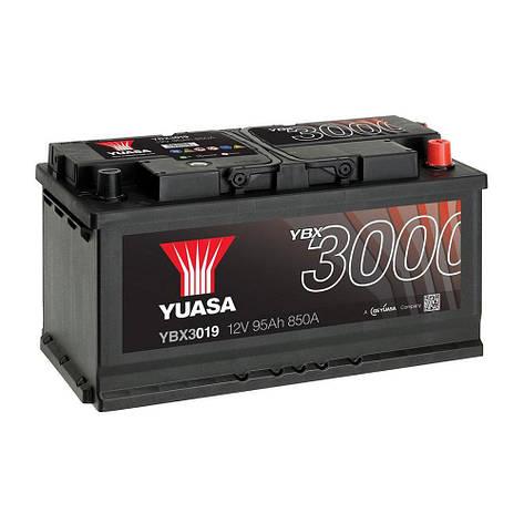 Yuasa 6СТ-95 АзЕ YBX3019 Автомобильный аккумулятор, фото 2