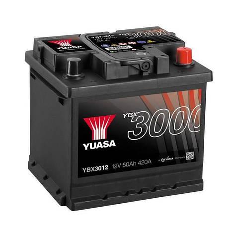 Yuasa 6СТ-50 АзЕ YBX3012 Автомобильный аккумулятор, фото 2