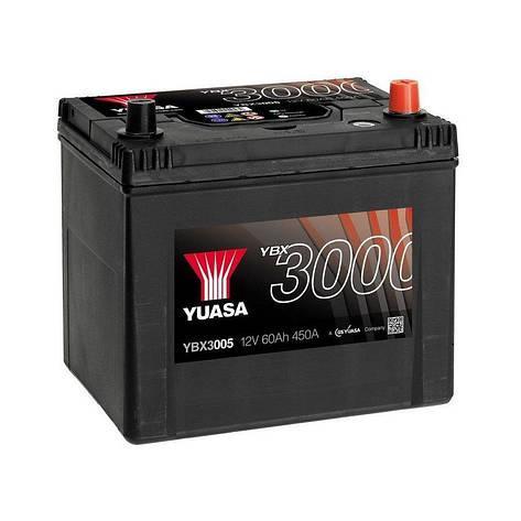 Yuasa 6СТ-60 АзЕ YBX3005 Автомобильный аккумулятор, фото 2