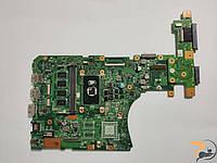 """Материнська плата для ноутбука ASUS VivoBook X556, 15.6"""", X556UJ, Rev:2.0, 60NB09S0, Б/В. Має впаяний процесор Intel Core i5-6200U, SR2EY"""