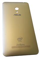 Батарейная крышка для Asus ZenFone 5 (A500KL, A500cg, A501cg, T00F, T00J) Gold