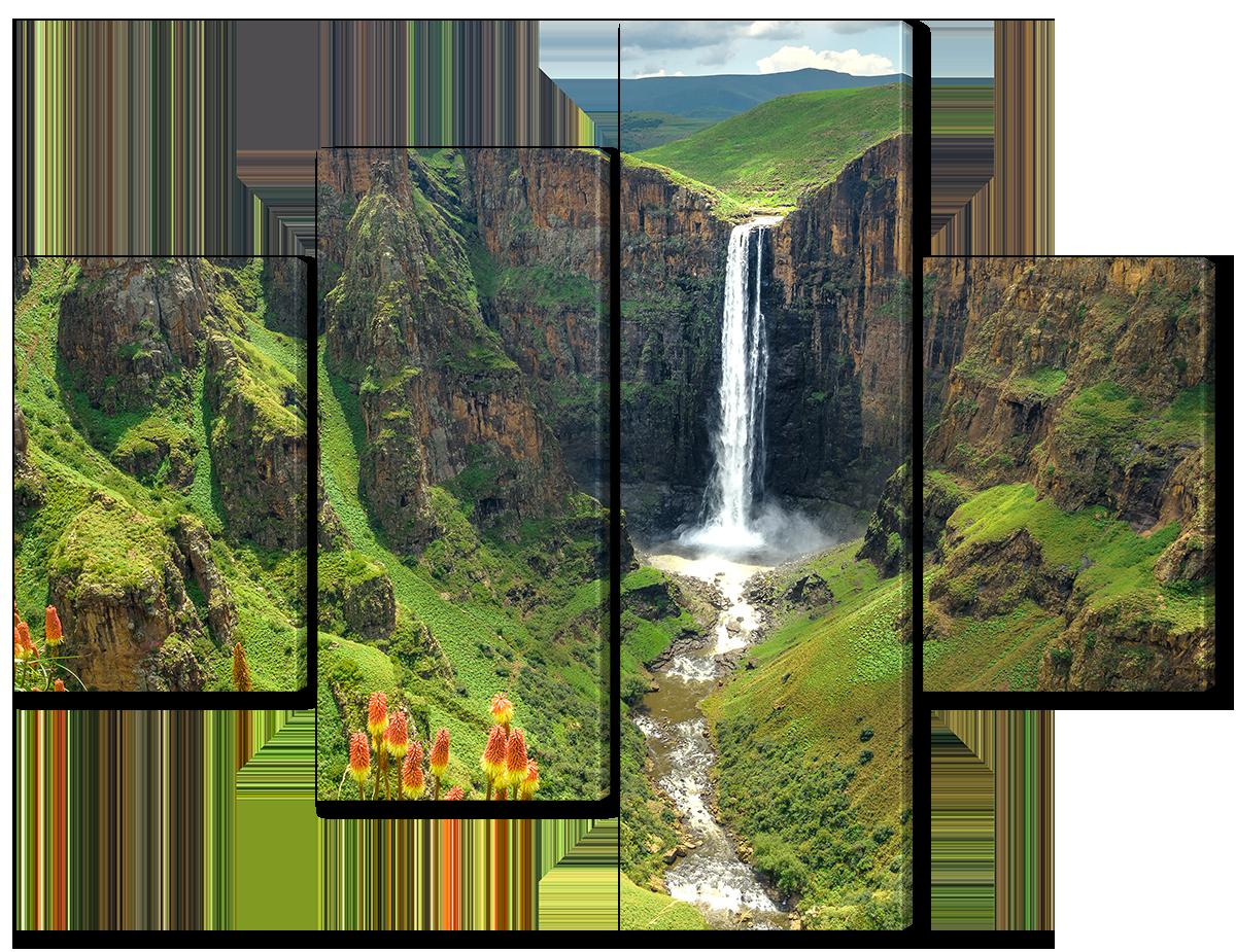 Модульная картина Interno Холст Татамский национальный природный парк 166x125см (R4663XL)