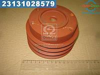 ⭐⭐⭐⭐⭐ Шкив насоса водяного 3-х ручейковый Д-245 (производство  БЗА)  245-1307166