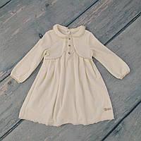 Детское велюровое платье для девочки на 86 рост (1-1,5 года), ТМ Smil