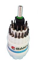 Набор отвёрток BAKU (BK-633-31A) (ручка + 30 насадок)