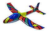 Планер метательный J-Color Osprey 600мм c комплектом красок, фото 3