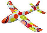 Планер метательный J-Color Osprey 600мм c комплектом красок, фото 6