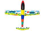 Планер метательный J-Color Falcon 600мм c комплектом красок, фото 3