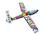 Планер метательный J-Color Falcon 600мм c комплектом красок, фото 4